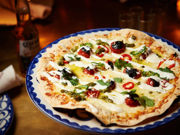 Quesadilla rustica at Bodega Negra
