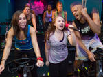 Sweatbox: Cycle Karaoke at Crunch Gym
