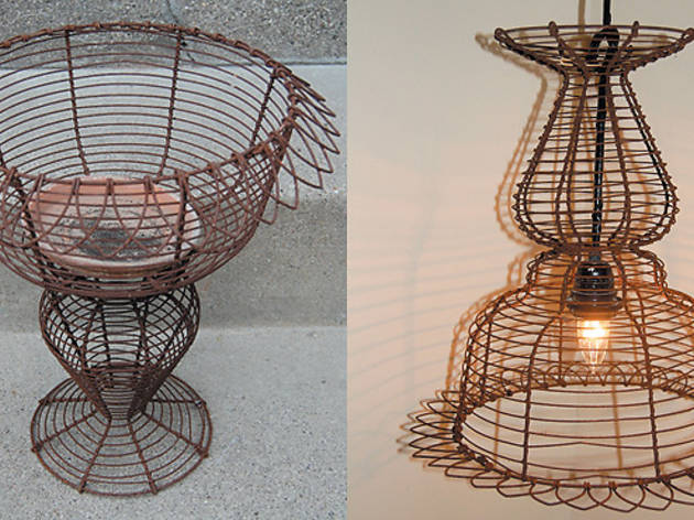 lightfixture - before and after