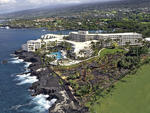 The Sheraton Keauhou Bay Resort & Spa is located on the cliffs of Kona.