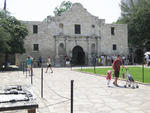 The historic Alamo in downtown San Antonio.