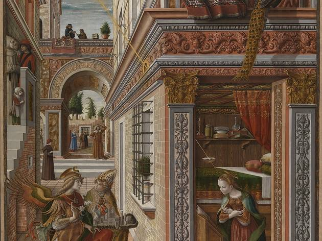 Carlo Crivelli  ('The Annunciation, with Saint Emidius', 1486)