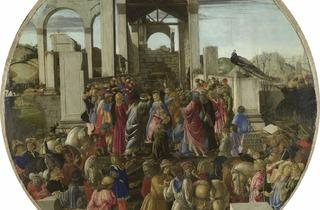 Sandro Botticelli  ('The Adoration of the Kings', about 1470-5)
