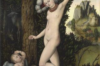 Lucas Cranach the Elder ('Cupid complaining to Venus', about 1525)