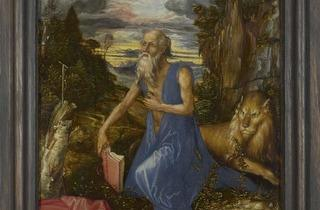 Albrecht Dürer  ('Saint Jerome', about 1496)