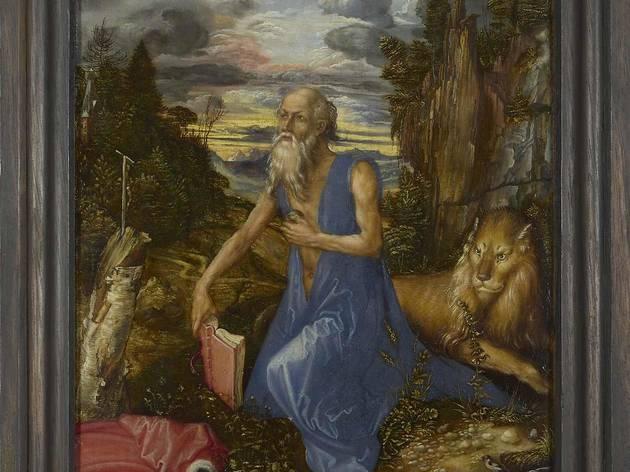 Albrecht Dürer  ('Saint Jerome', about 1496)
