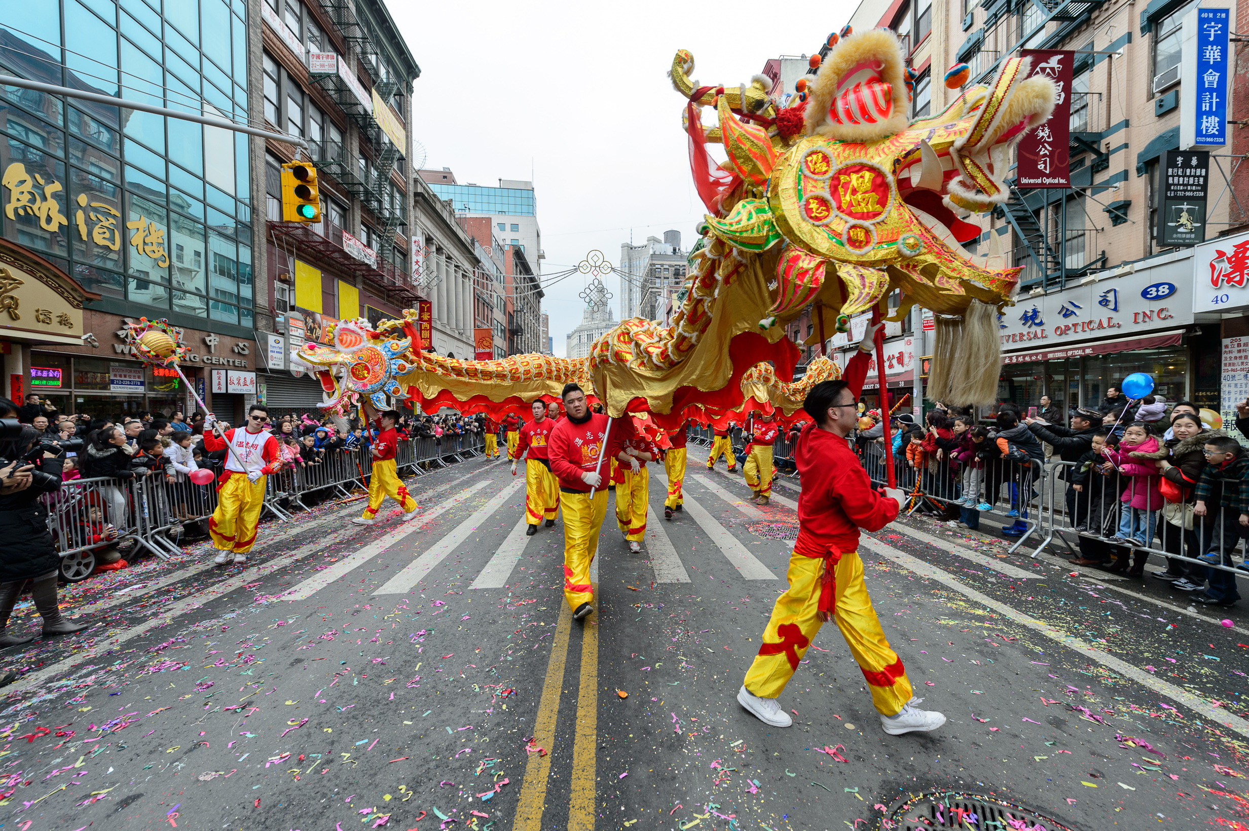 Chinese New Year 2015 In New York City