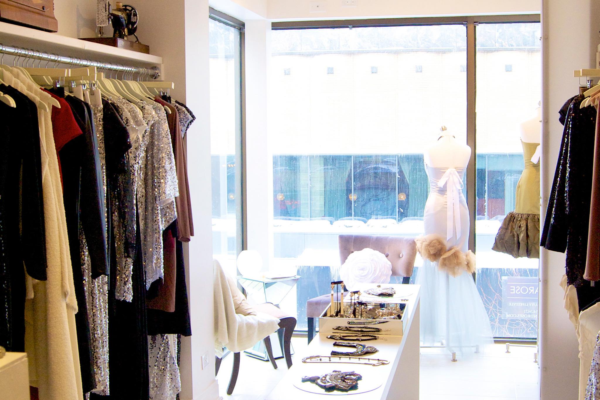 <p>Sararose showcases eco- and animal-friendly women's clothing.</p>