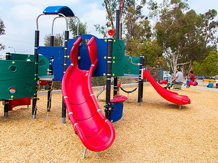 Explore a new playground