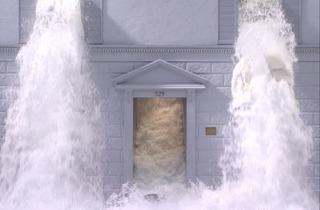 (Bill Viola, 'Going Forth By Day (détail)', 2002, extrait de 'The Deluge' (panneau 3) / Performers : Weba Garretson, John Hay / Collection particulière / Photo : Kira Perov)