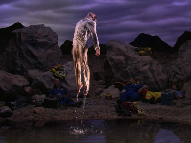(Bill Viola, 'Going Forth By Day (détail)', 2002, extrait de 'First Light' (panneau 5) / Performers : Weba Garretson, John Hay / Collection particulière / Photo : Kira Perov)