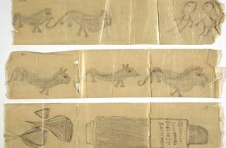 Graffiti on Lavatory Paper (© Adamson Collection)