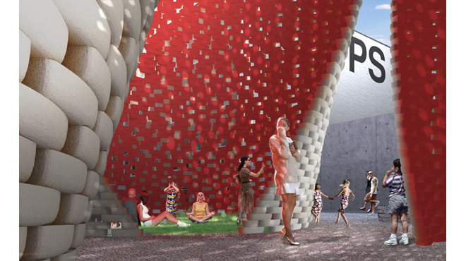Awe-inducing art at MoMA PS1's Warm Up