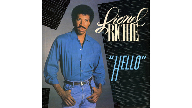 """Hello"" by Lionel Richie"