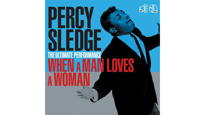 """""""When a Man Loves a Woman"""" by Percy Sledge album cover"""
