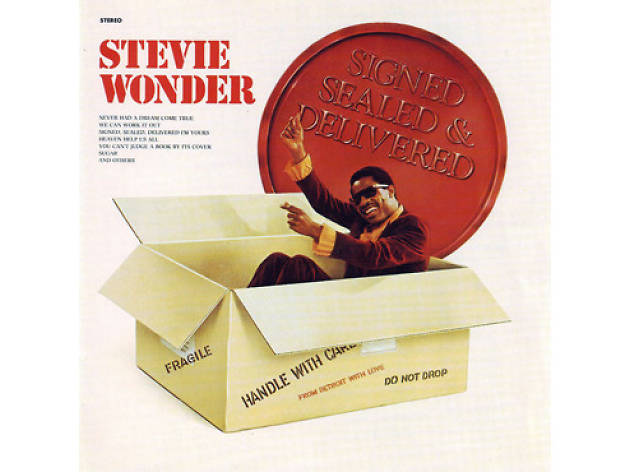'Signed, Sealed, Delivered (I'm Yours)' – Stevie Wonder
