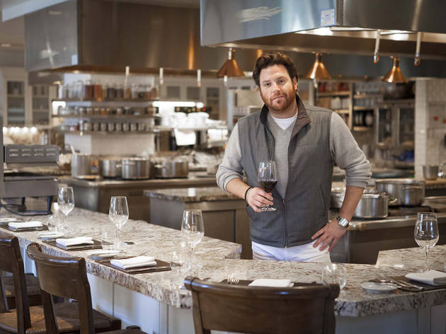 Scott Conant at Scarpetta