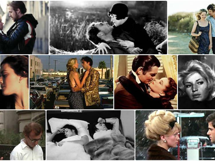 Les 50 meilleurs films d'amour
