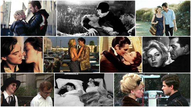 Guide du film d'amour