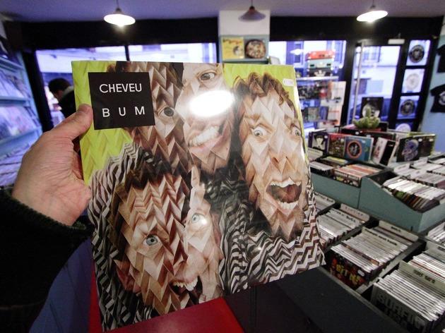 Cheveu vinyle 'BUM'