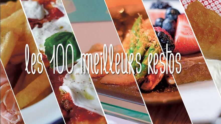 Nos 100 meilleurs restaurants