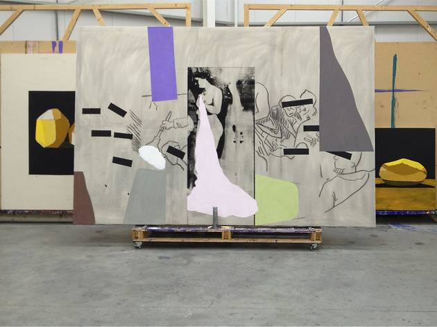 Bruce McLean: Action Sculpture Potato Painting