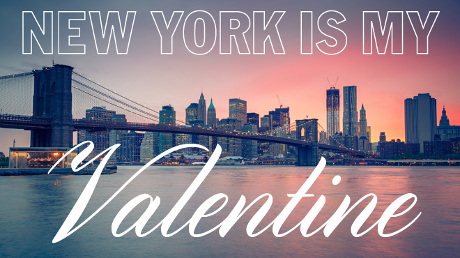 25 reasons NYC is my valentine