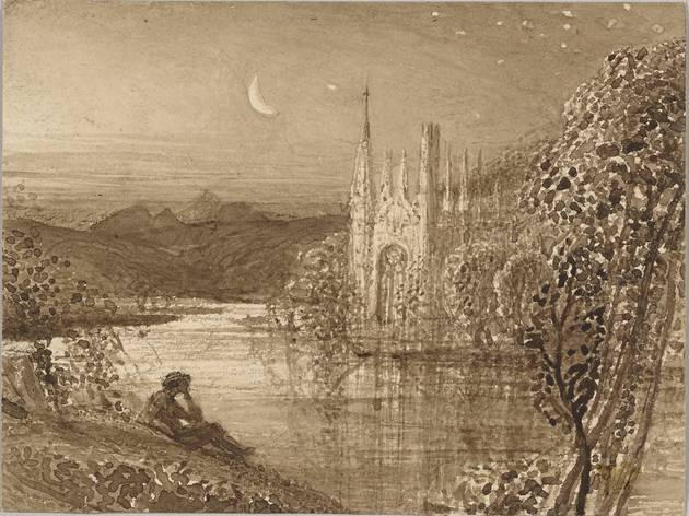 Samuel Palmer  ('The Haunted Stream' c1826, © The Morgan Library & Museum)