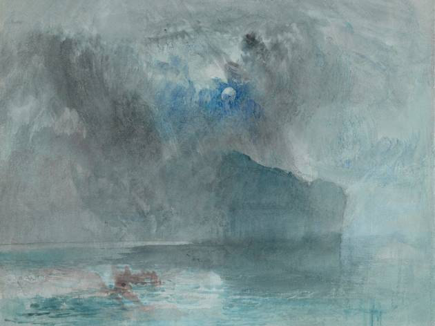 Joseph Mallord William Turner  ('On Lake Lucerne, looking towards Fluelen' 1841, © The Courtauld Gallery )