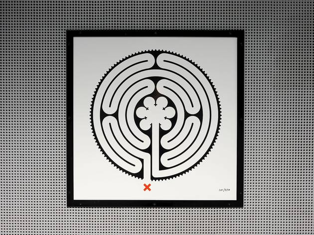 Mark Wallinger, Labyrinth, 2013 Commissioned by Art on the Underground, LUL All works © The Artist, Courtesy Anthony Reynolds Gallery, London