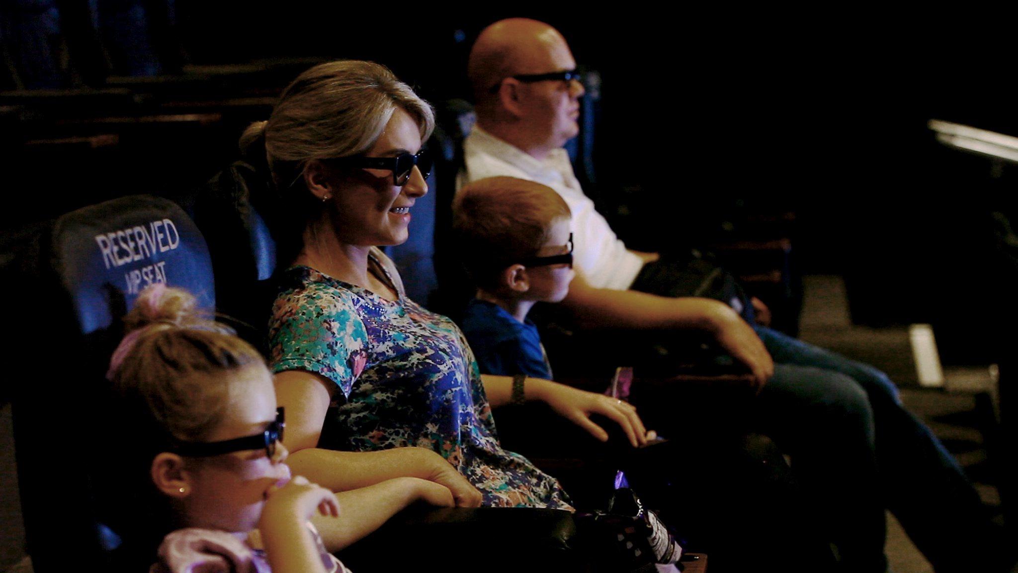 Vue Westfield London 3D glasses