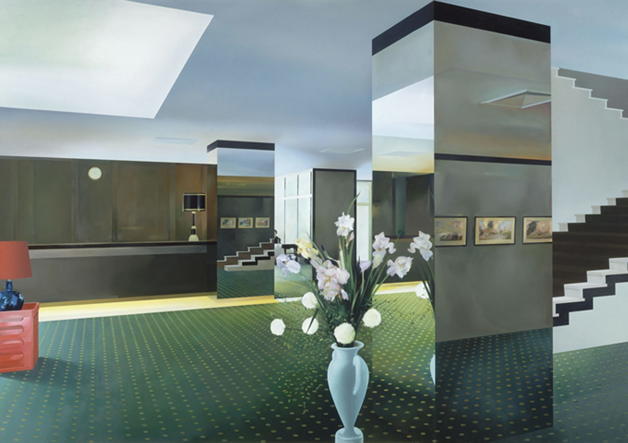 'Lobby' 1985-1987, © the estate of Richard Hamilton