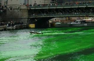 Chicago River at Michigan Avenue and Wacker Drive