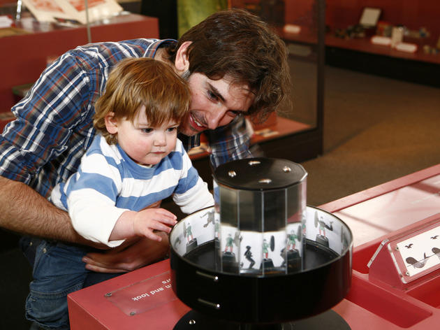 Museum of childhood sensory pod