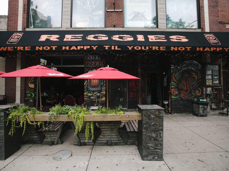 Reggies Rooftop Deck