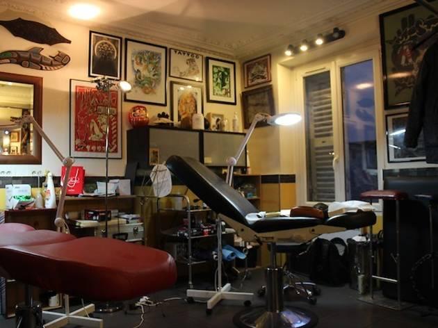 Tin-Tin tatouages (© Céline Astorg)