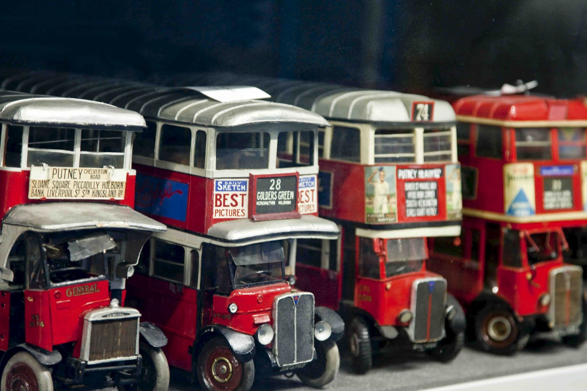 Get behind the Scenes at London Transport Museum Depot