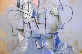 George Condo ('Constellation Portrait', 2013)