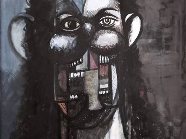 George Condo ('Female Portrait', 2013)