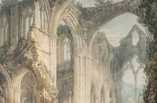 JMW Turner ('Tintern Abbey: The Crossing and Chancel, Looking towards the East Window', 1794)