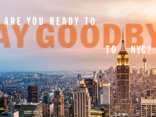 Quiz for New Yorkers: Are you ready to say goodbye to NYC?