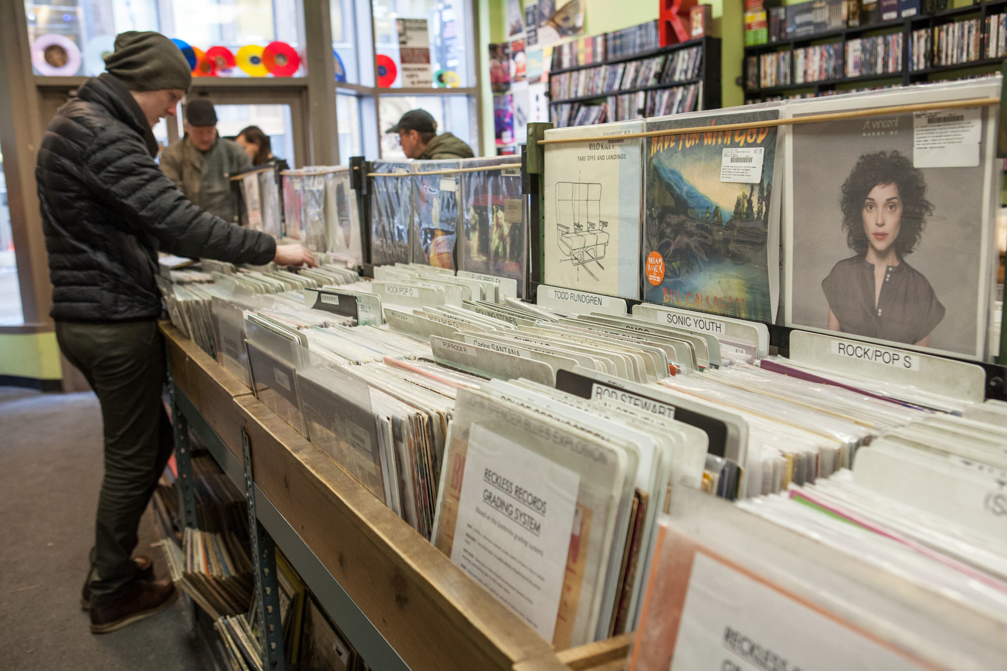 Reckless Records in the Loop is one of the best record stores in Chicago.