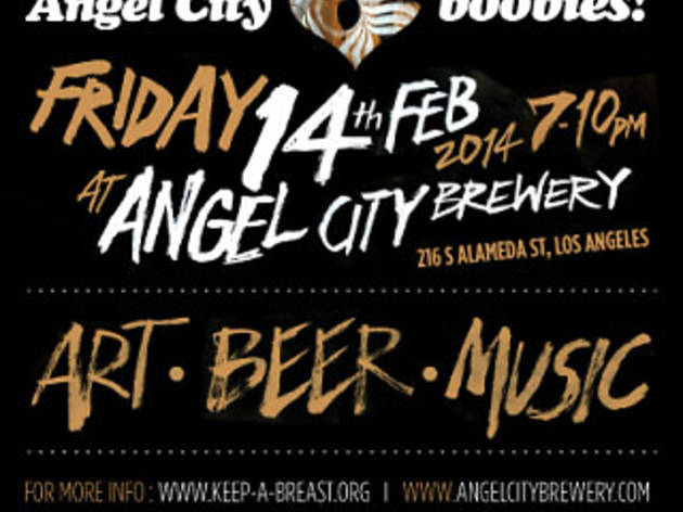 Angel City Loves Boobies! Valentines Day Art Exhibition and Fundraiser