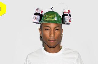 A beer hat