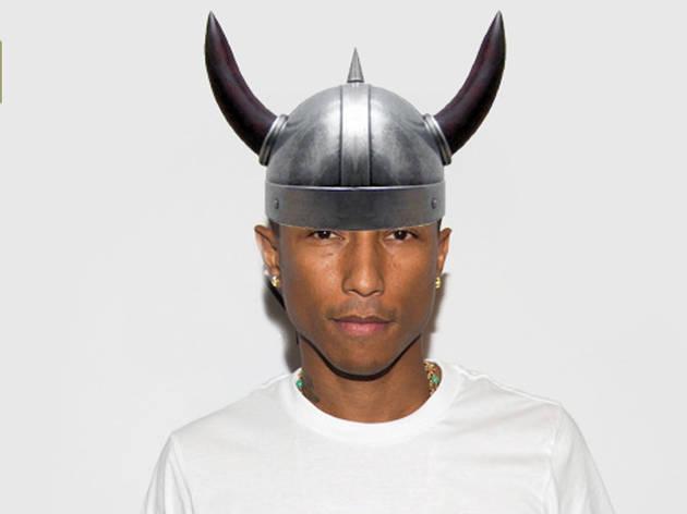 A Viking helmet