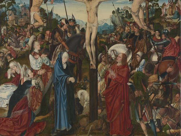 Master of Aachen Altarpiece (The Crucifixion (about 1490-5))