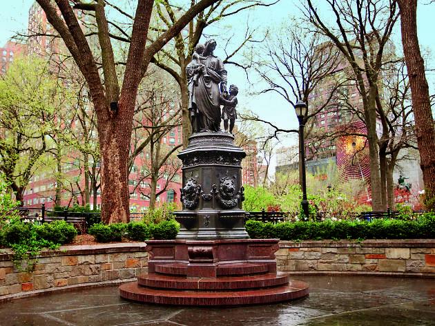 james fountain in union square