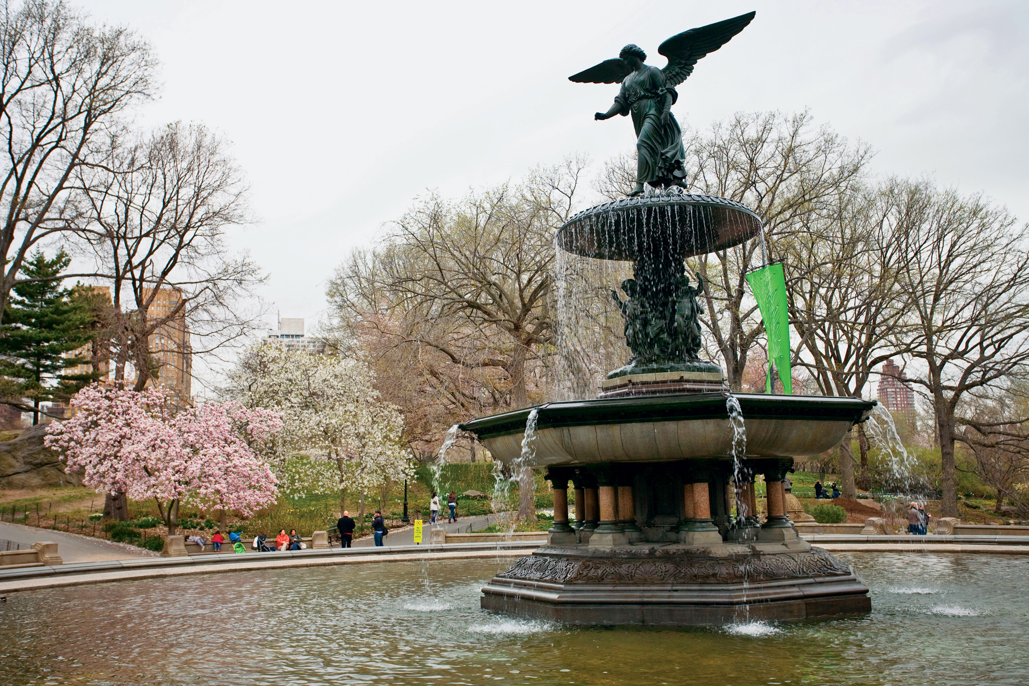 Angel of the Waters, Bethesda Fountain, Central Park