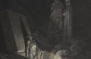 (Gustave Doré, « Quels furent tes ancêtres ? », publiée dans Dante Alighieri, 'L'Enfer', Paris, Hachette, 1861 / © Bibliothèque Nationale de France)