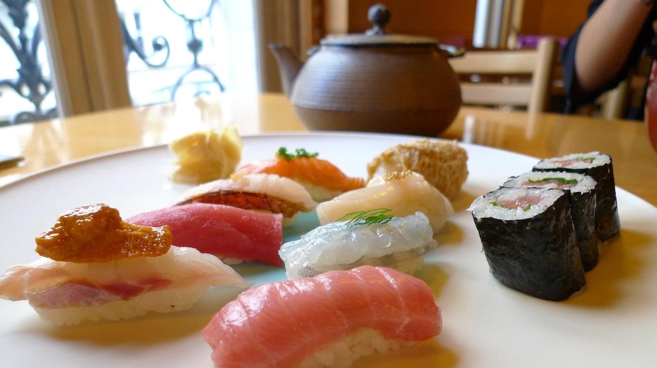 Restaurant japonais paris les meilleures adresses paris - Restaurant japonais cuisine devant vous paris ...